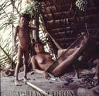 Waorani Indians, in hammock, Rio Cononaco, Ecuador, 1983