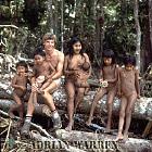 Waorani Indians : with Adrian Warren, rio Cononaco, Ecuador, 1983
