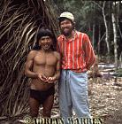 Waorani Indians : Caempaede with Jim Larrick, rio Cononaco, Ecuador, 1983