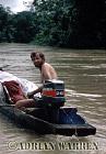 Waorani Indians : James Yost, rio Cononaco, Ecuador, 1983