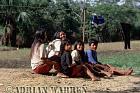 Waorani Indians : Settlement near airstrip, rio Cononaco, Ecuador, 2002
