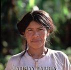 Waorani Indian woman : rio Cononaco, Ecuador, 2002