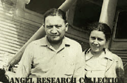 Jimmie Angel and his wife Marie