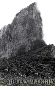 RORAIMA's PROW from the north ridge 1971