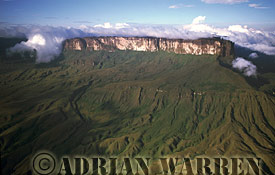 Roraima and the ledge, 2000